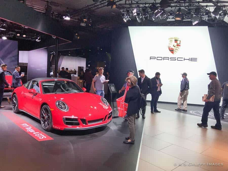 attending the Auto Show is one of the fun things to do in Los Angeles in December