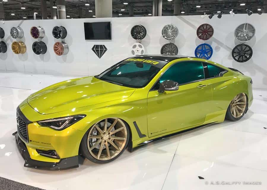visiting the L.A. Auto Show