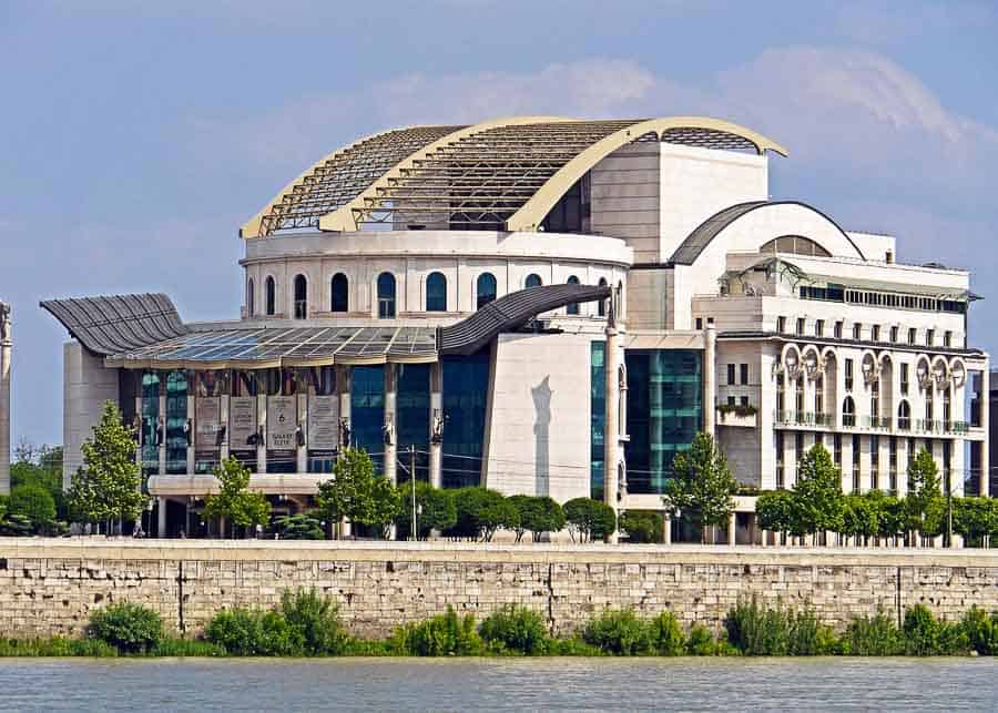 Palace of the Arts in Budapest