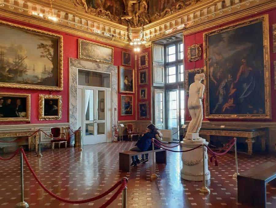 Art Gallery in Palazzo Pitti