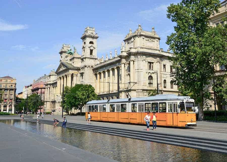 Buda or Pest: public transportation