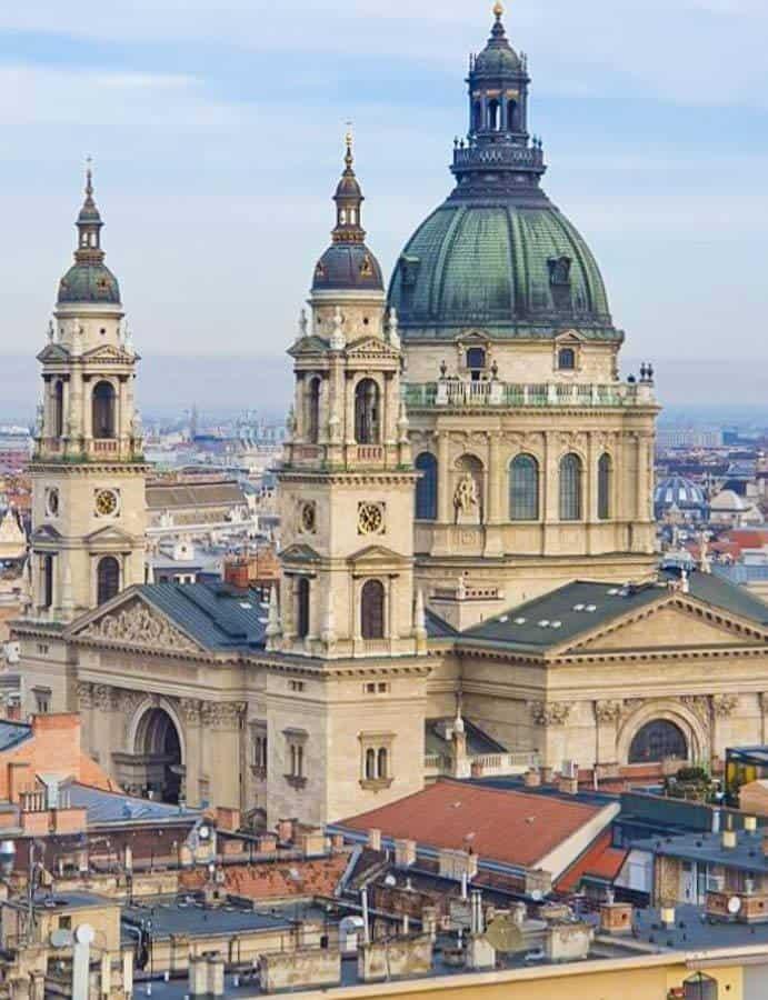 Szent Stephan Basilica in Budapest