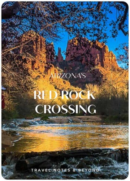 Arizona's Red Rock Crossing trail