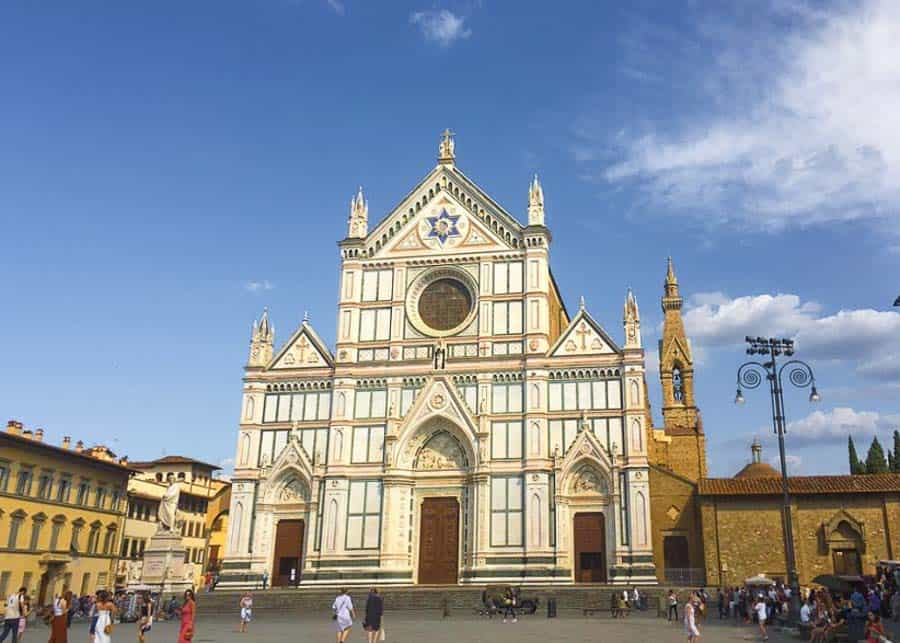 2 days in Florence: Basilica di Santa Croce