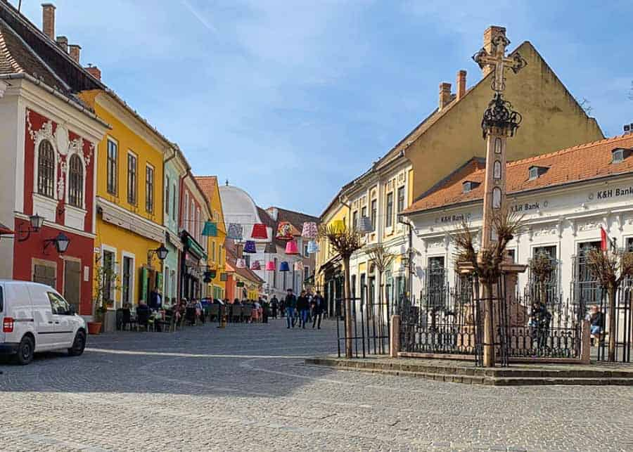 Szentendre, one of the easiest day trips from Budapest
