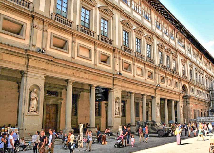 2 Days in Florence: visiting the Uffizi Gallery
