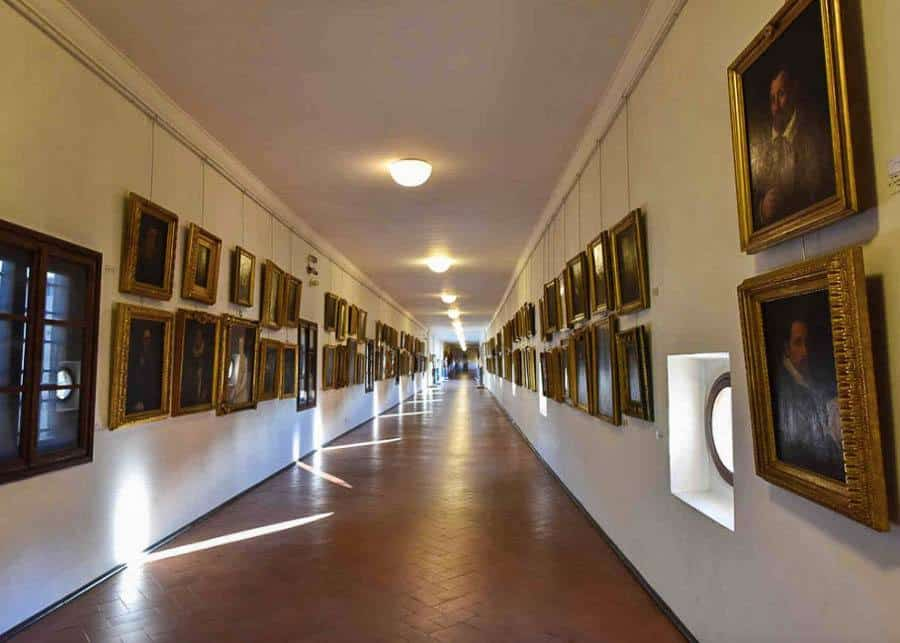 the museum at Vasari Corridor