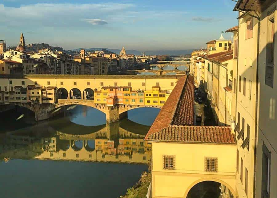 Visiting the Vasari Corridor