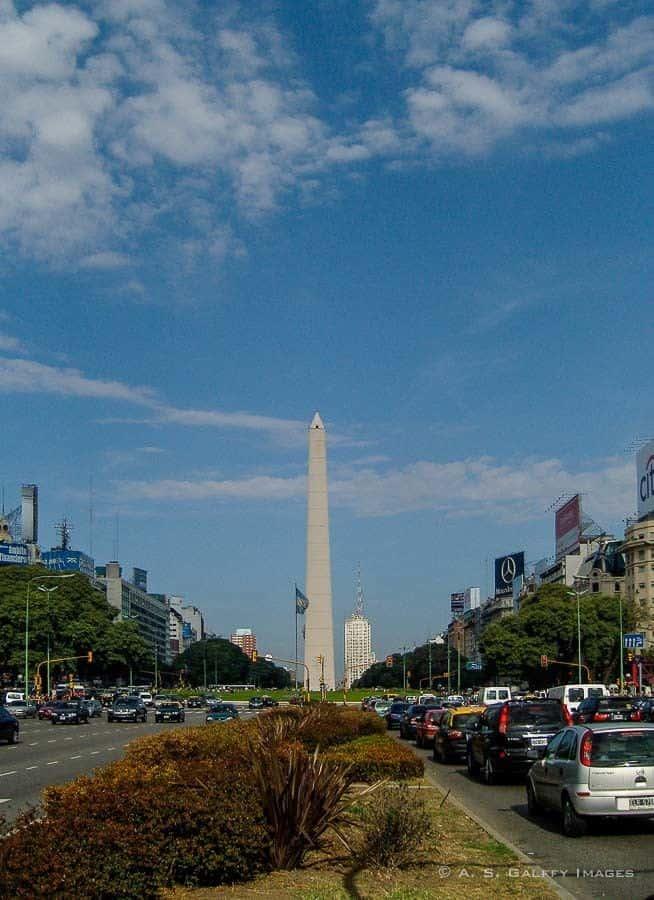 El Centro or San Nicolas neighborhood in Buenos Aires