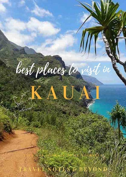 places to visit on Kauai