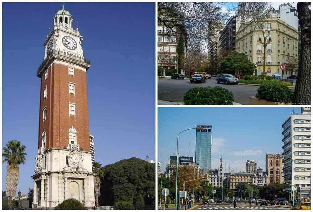 Retiro neighborhood in Buenos Aires