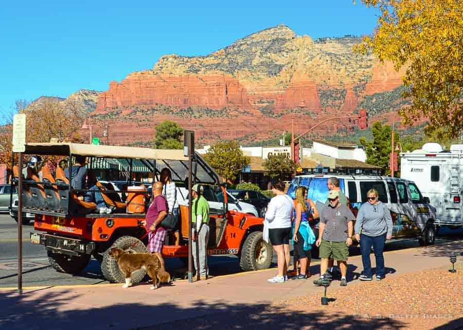 Jeep riding in one day in Sedona