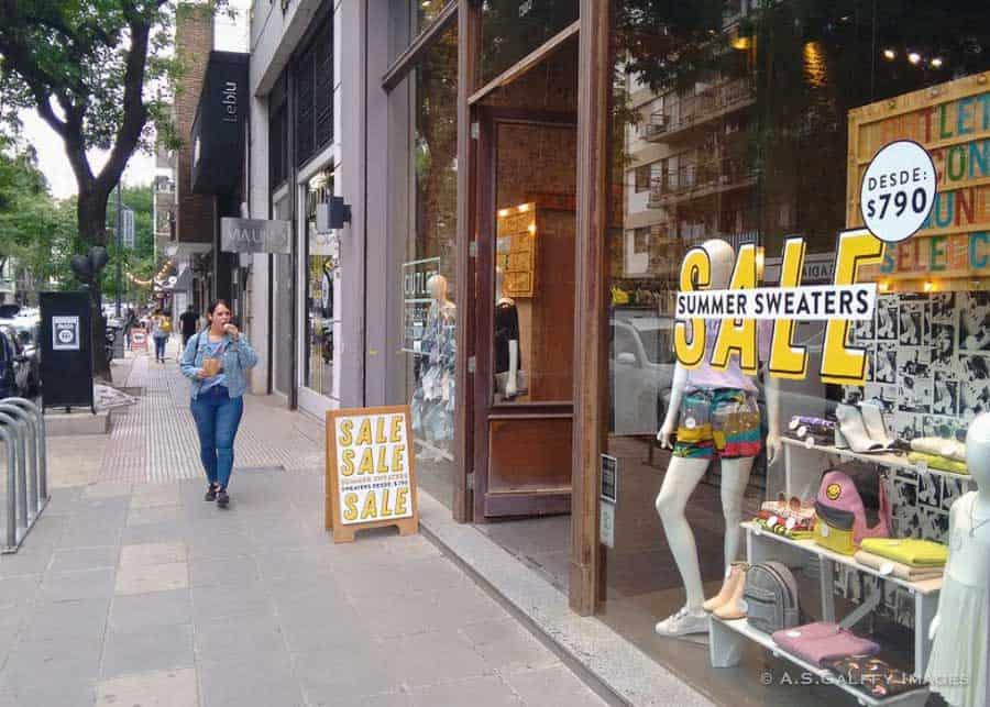 Shops in Villa Crespo, Buenos Aires