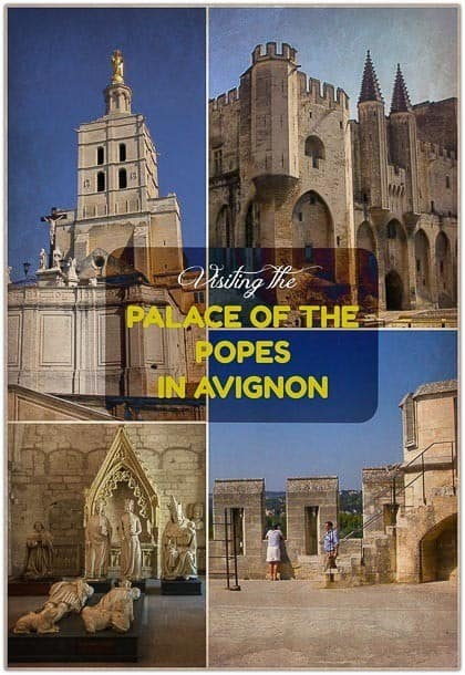 Visiting the Palace of the Popes in Avignon