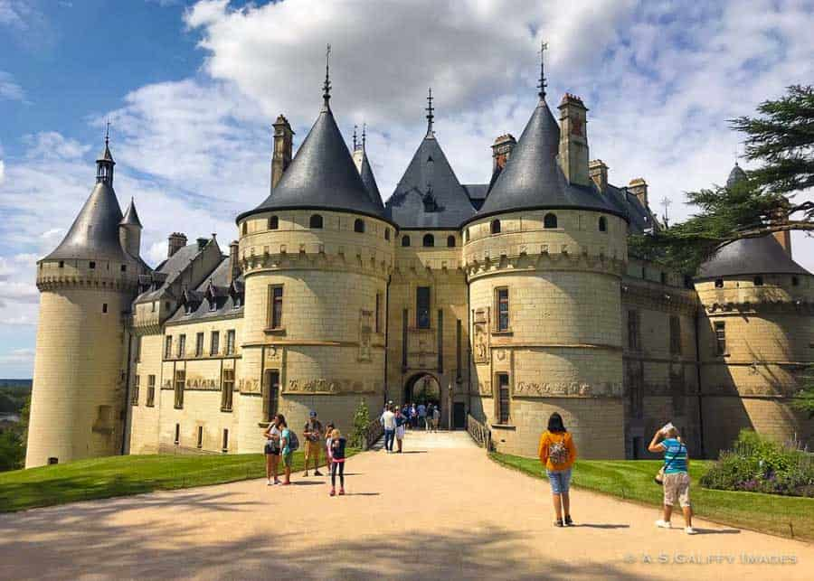 the Castle of Chaumont in the Loire Valley