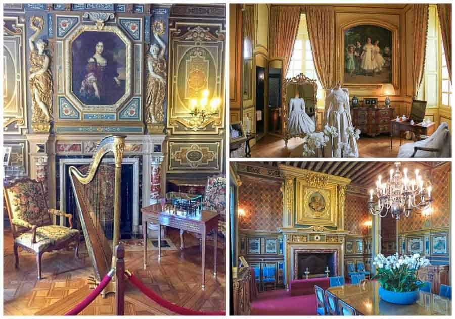 Rooms at Château de Cheverny