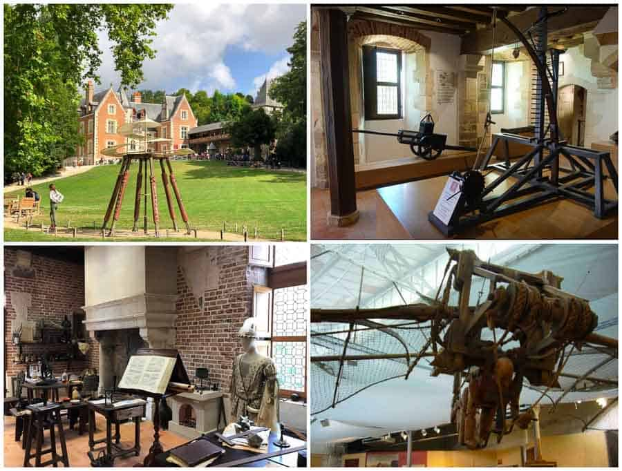 Da Vinci's engineering projects at Clos Luce