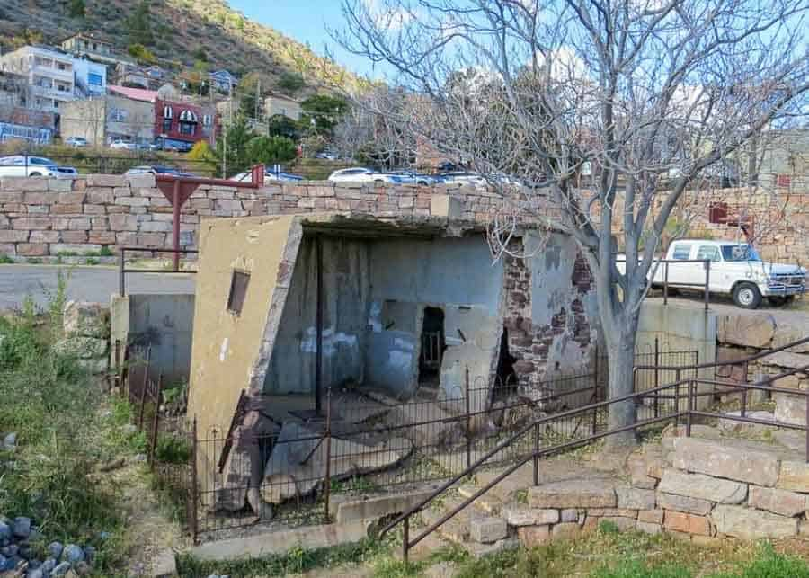 The Jail House in Jerome Ghost Town