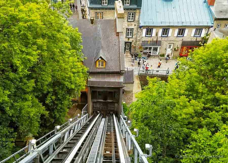 Old Quebec City funicular