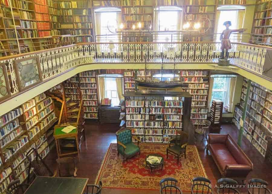 the Library at Morrin Center in Quebec City