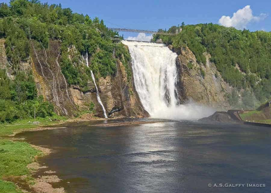 Guide to Quebec City: Montmorency Falls