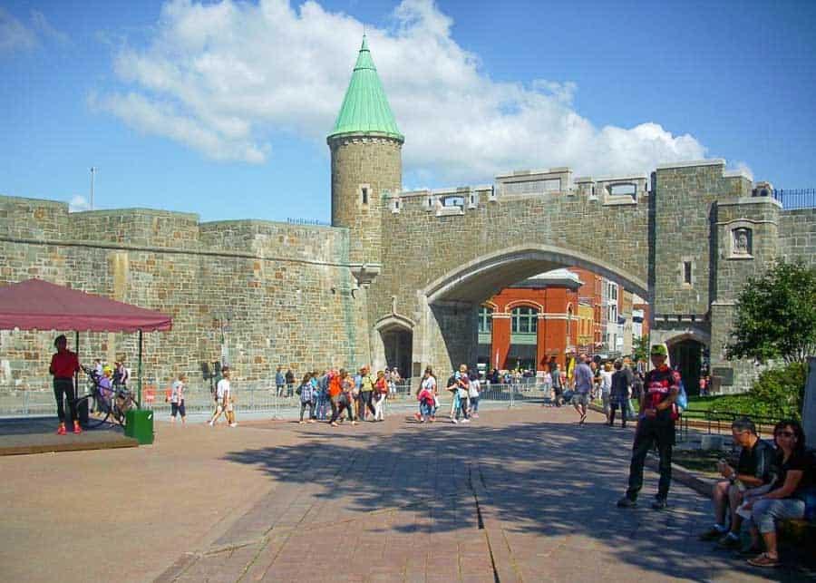 The citadel of Quebec City