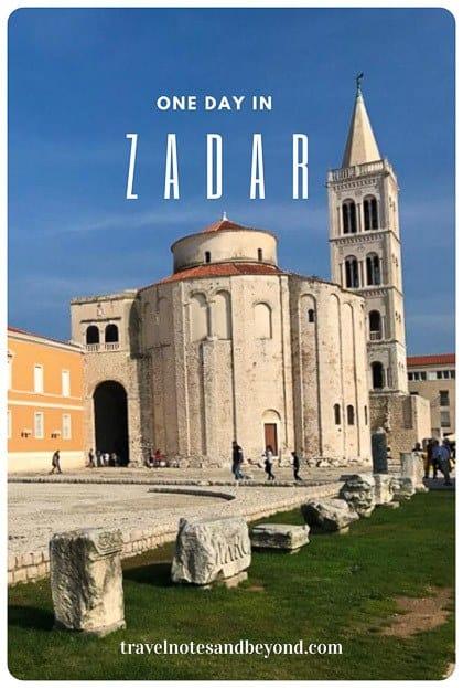 One day in Zadar