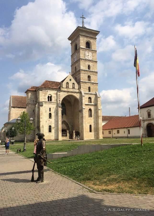 St.Michael's Cathedral in Alba Iulia
