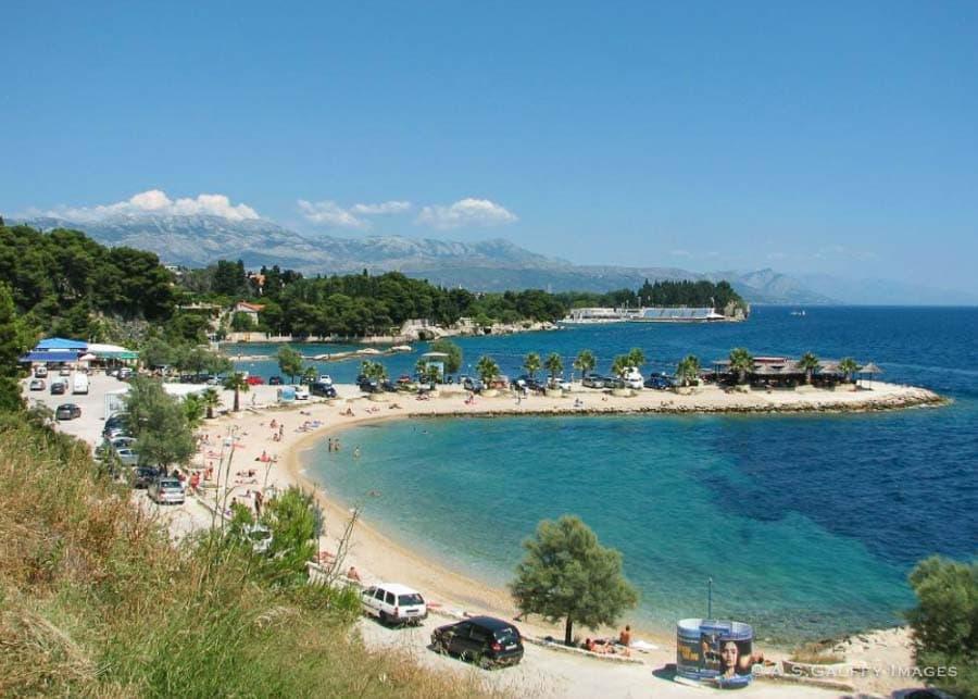 Trstenik beach in Split