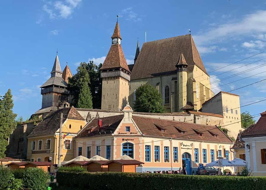 Biertan fortified church