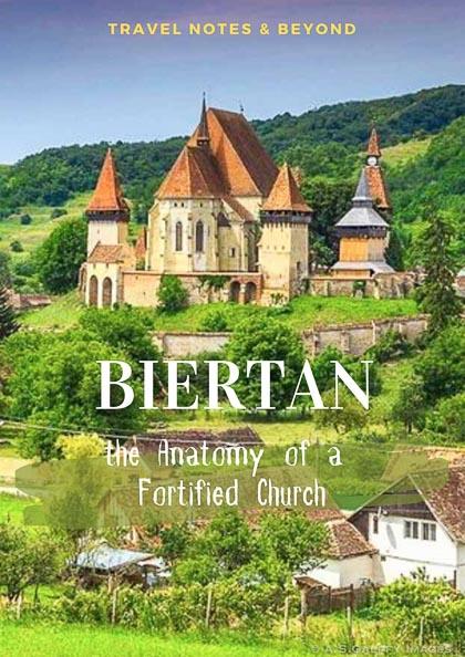 view of the Biertan Fortified Church