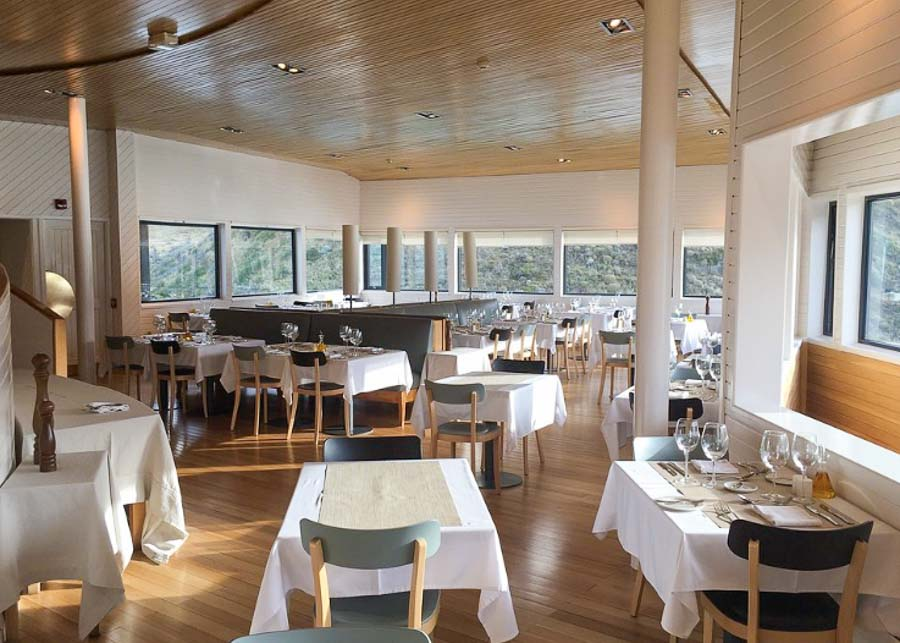 Restaurant at Hotel Explora Patagonia in Torres Del Paine