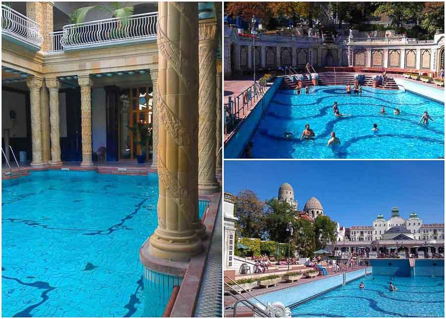 Gellert Baths in Budapest Old Town