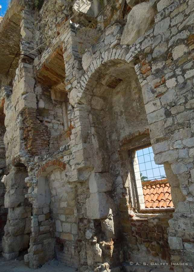 Visiting the Old City Walls in Split