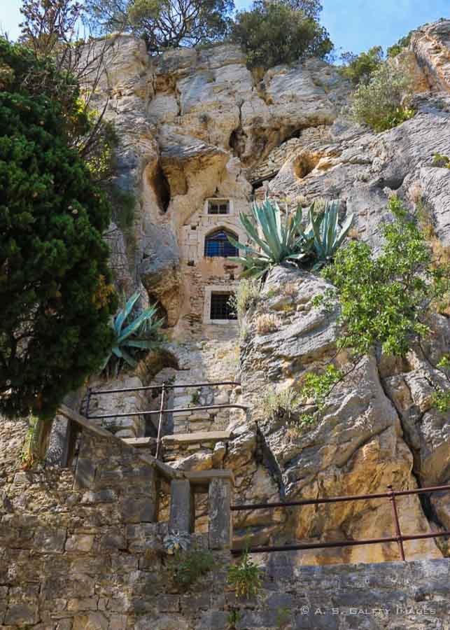 Things to do in Split: visiting the Hermit Caves