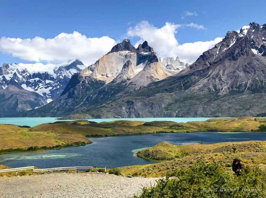 Los Cuernos Peak in Torres del Paine
