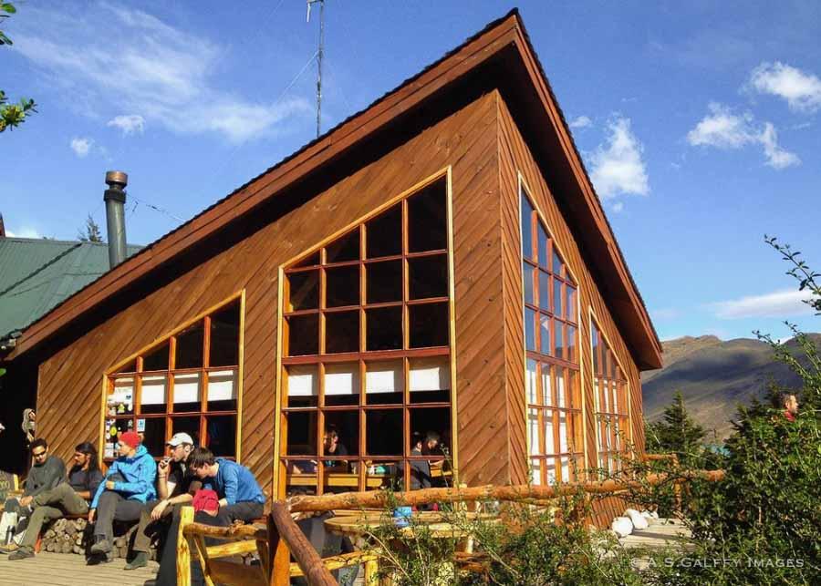 Refugio Los Cuernos in Torres Del Paine