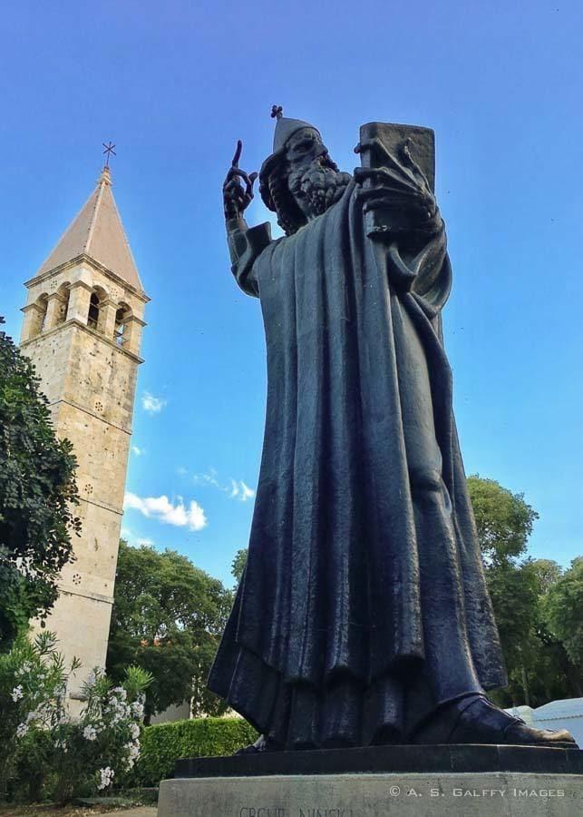 Image of the Statue of Grgur Ninski in Split