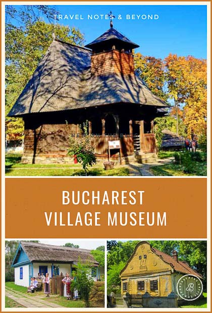houses from the Bucharest Village Museum