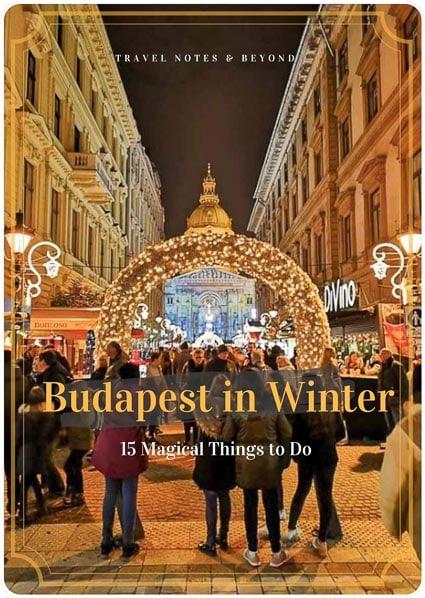 Winter festivities in Budapest