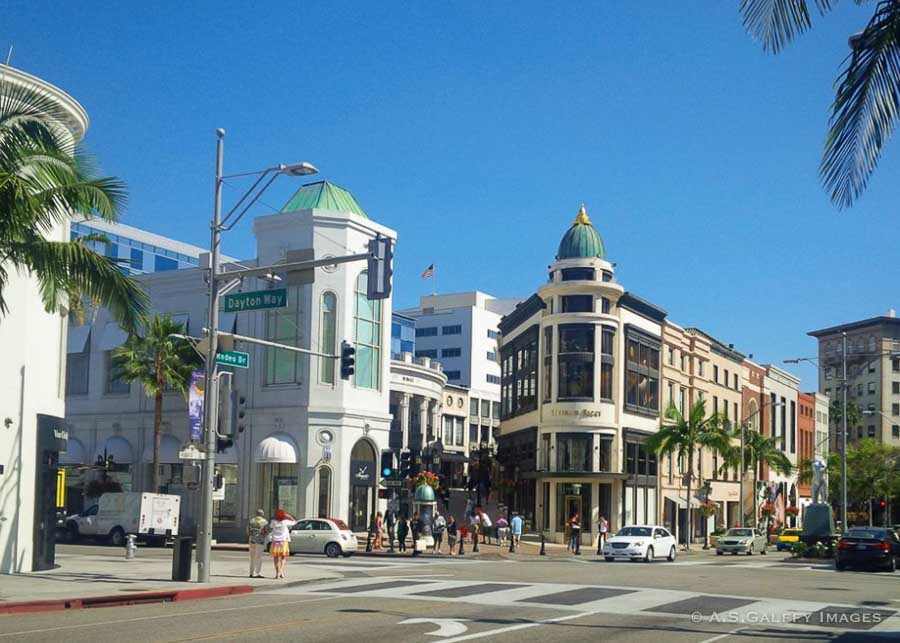 One Day in LA - visit the Rodeo Drive