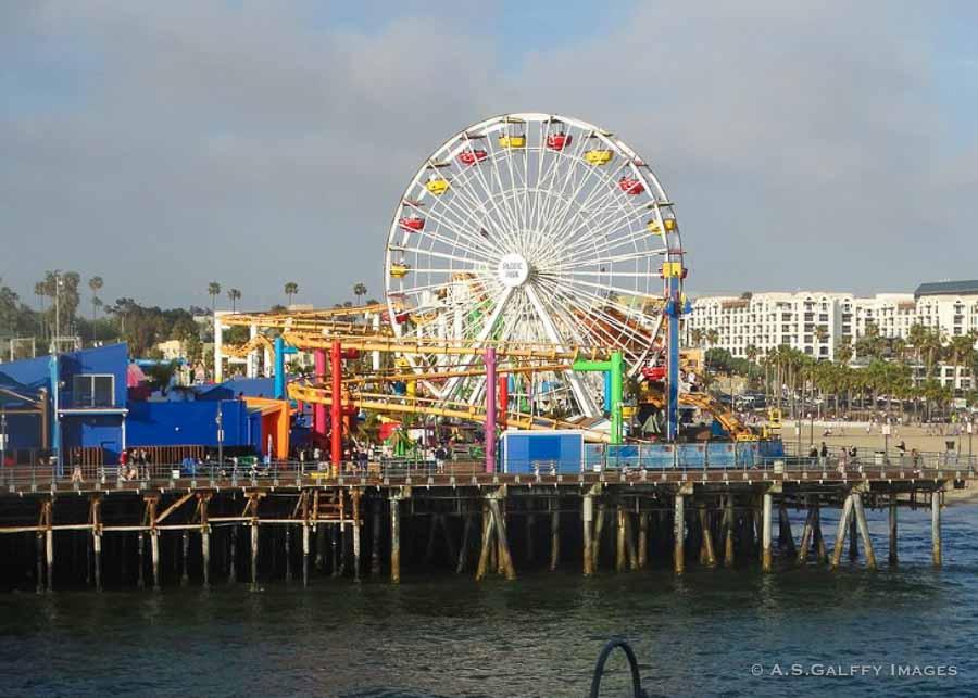 Visiting Santa Monica Pier