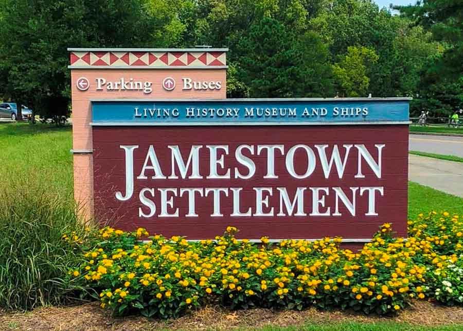 Visiting Jamestown Settlement