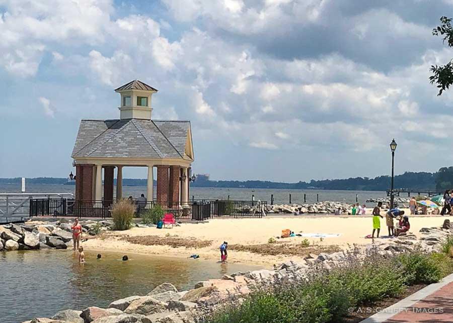 View of Yorktown Beach
