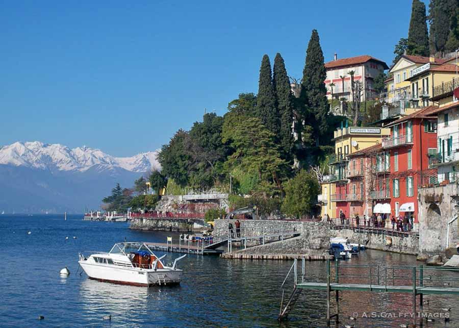 the village of Verona in Lake Como