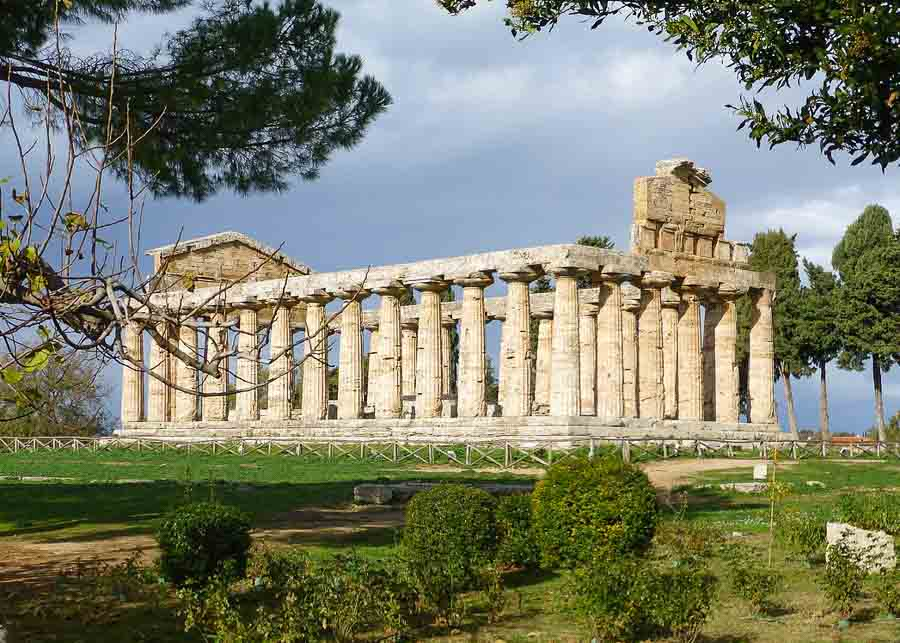 Greek temple at Paestum