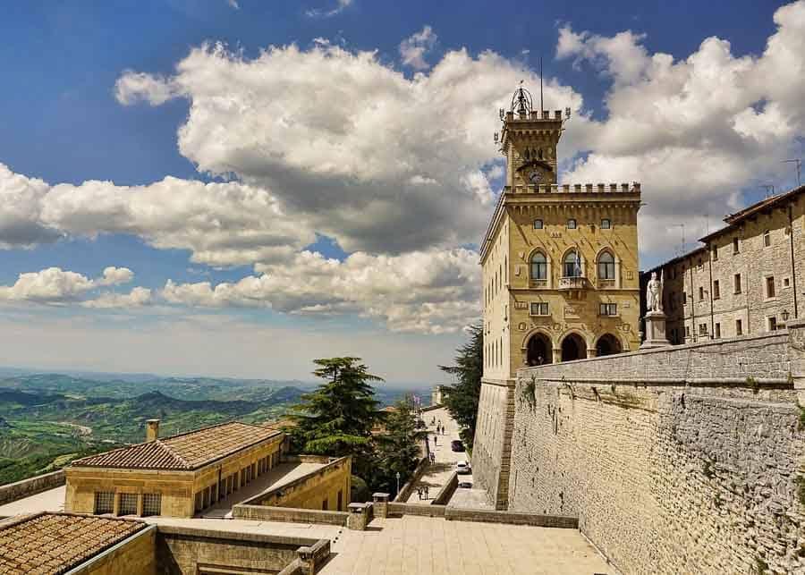 Palazzo Pubblico in San Marino