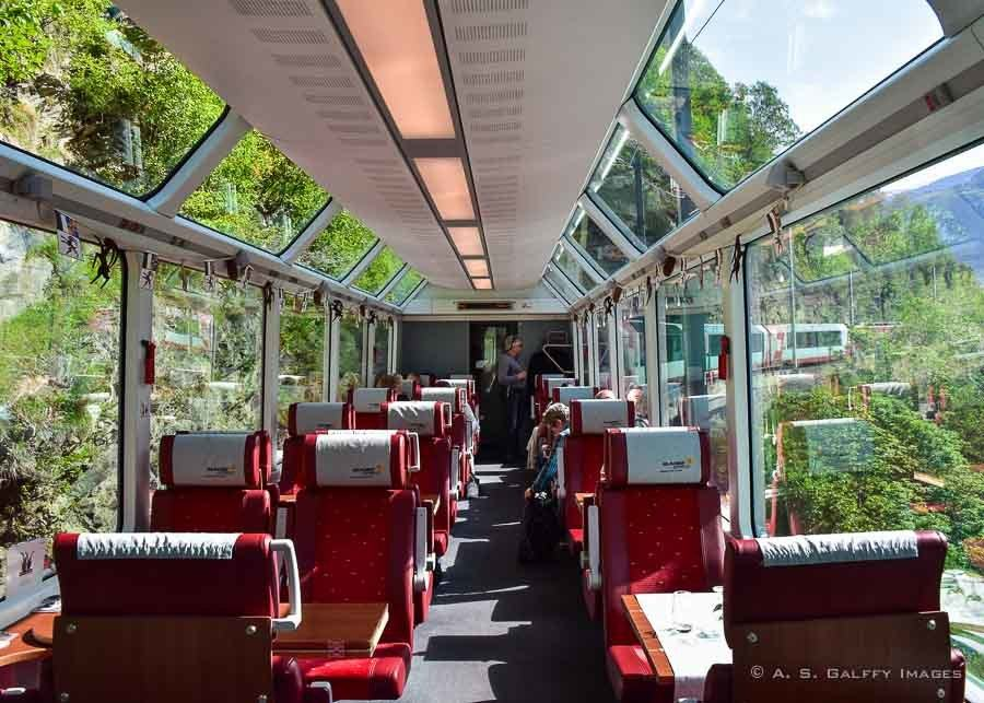 10 days in Switzerland itinerary aboard the Glacier Express