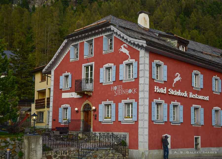 Hotel Steinbock in Pontresina