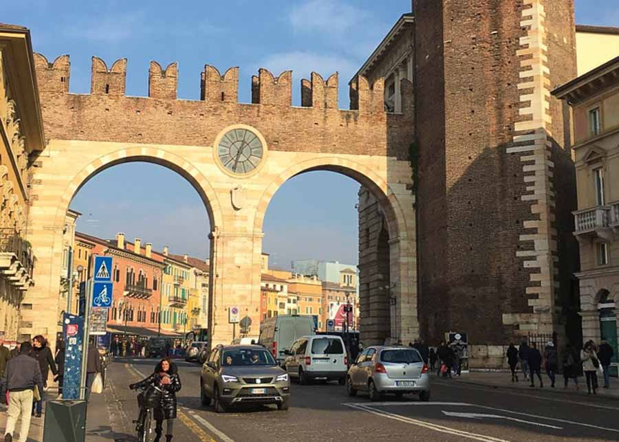 Verona historic center
